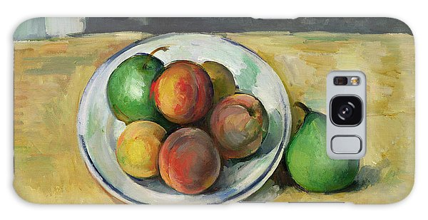 Still Life With A Peach And Two Green Pears Galaxy Case by Paul Cezanne