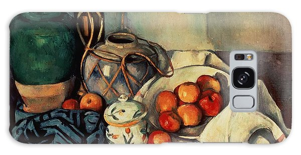 Still Life Galaxy Case - Still Life With Apples by Paul Cezanne