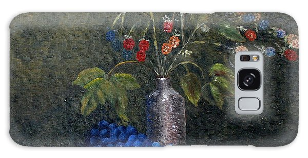 Still Life With Blue Fruit Galaxy Case