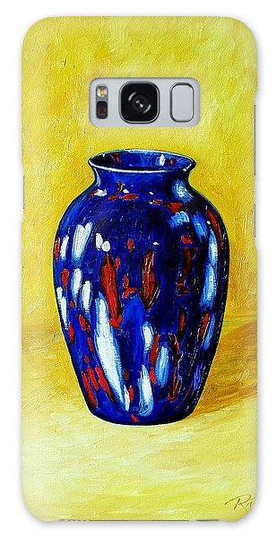 Still Life With Blue Vase Galaxy Case