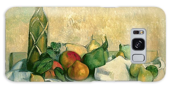 Lives Galaxy Case - Still Life With Bottle Of Liqueur by Paul Cezanne