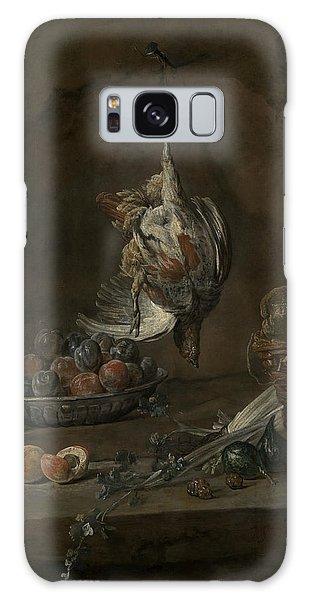 Still Life With Dead Pheasant Galaxy Case by Jean-Baptiste-Simeon Chardin