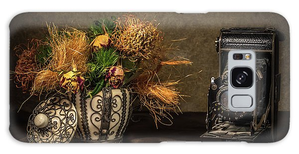 Still Life With Flowers And Camera Galaxy Case by Wim Lanclus