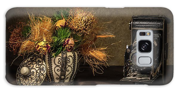 Still Life With Flowers And Camera Galaxy Case