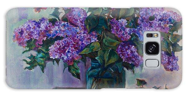 Still Life With Lilac  Galaxy Case