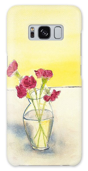 Still Life With Roses Galaxy Case
