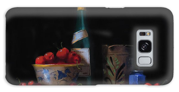 Still Life With The Alsace Jug Galaxy Case by Barry Williamson