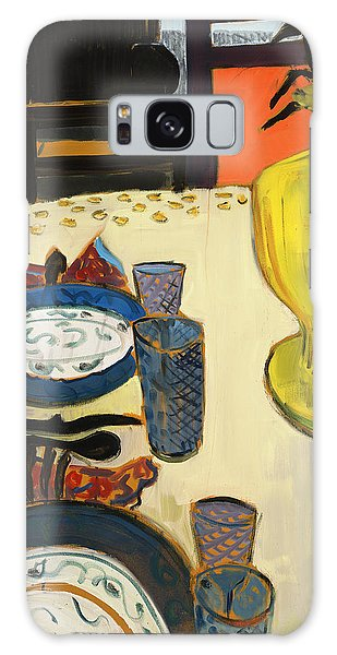 Still Life With Two Plates Galaxy Case