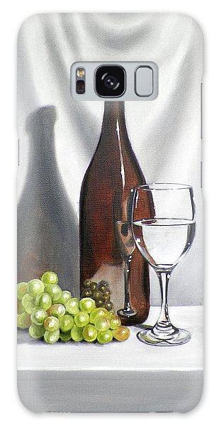 Still Life With White Wine Galaxy Case