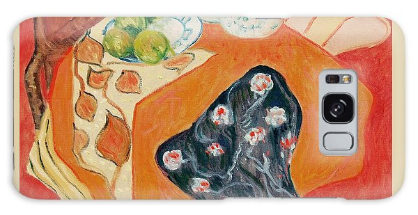 Still Live With Red Galaxy Case by Pierre Van Dijk