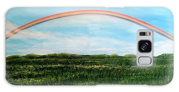 Still Searching For Somewhere Over The Rainbow? Galaxy Case by Kimberlee Baxter