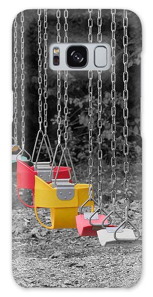 Still Swings Galaxy Case by Richard Reeve
