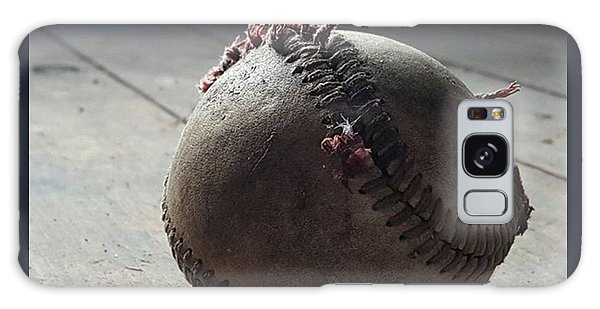 Sports Galaxy Case - Baseball Still Life by Andrew Pacheco