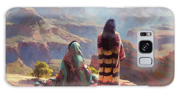 Galaxy Case featuring the painting Stillness by Steve Henderson