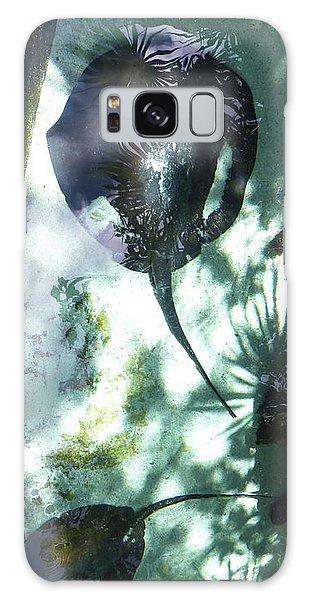 Galaxy Case featuring the photograph Stingray Swim V by Francesca Mackenney