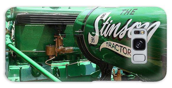 Stinson Steam Tractor Galaxy Case by Scott Kingery