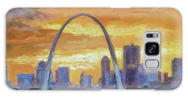 Galaxy Case - St.louis Arch - Sunset by Irek Szelag
