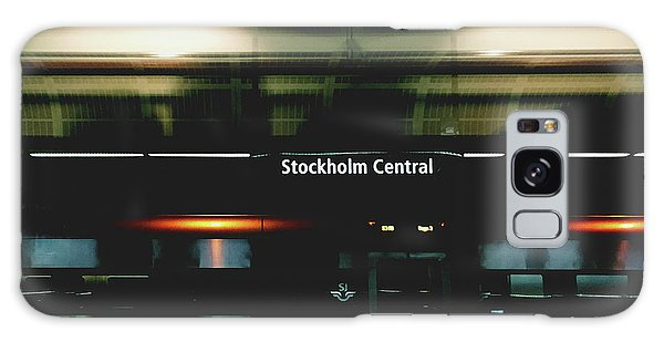 Sweden Galaxy Case - Stockholm Central- Photograph By Linda Woods by Linda Woods
