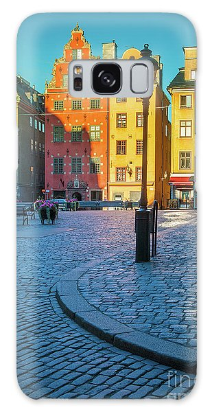 Town Square Galaxy Case - Stockholm Stortorget Square by Inge Johnsson