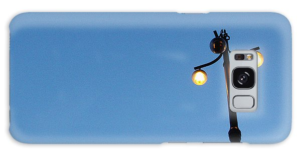 Light Galaxy Case - Stockholm Street Lamp by Linda Woods