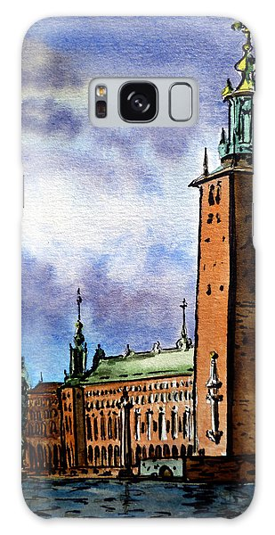 Stockholm Sweden Galaxy Case by Irina Sztukowski