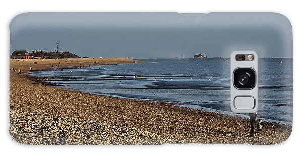 Stokes Bay England Galaxy Case