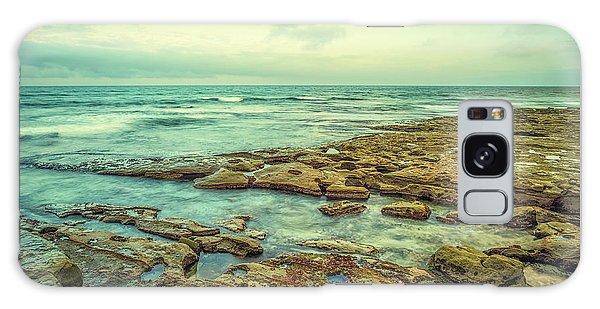 Stone And Sea Galaxy Case