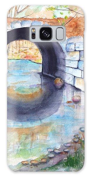 Stone Arch Bridge Dunstable Galaxy Case by Carlin Blahnik