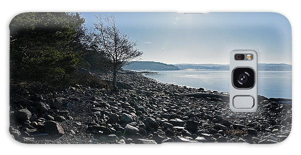 Stone Beach Galaxy Case