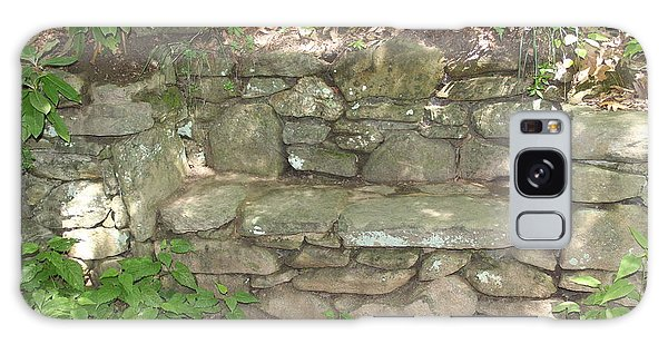 Stone Bench Galaxy Case