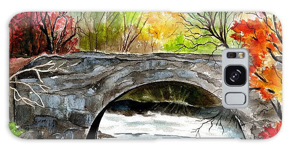 Stone Bridge In Maine  Galaxy Case