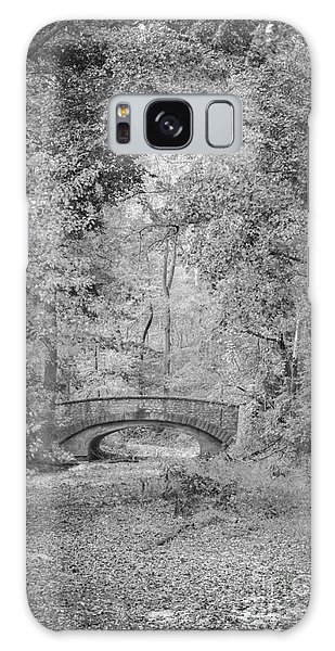 Stone Bridge In The Woods Galaxy Case