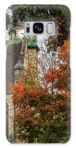 Stone Chapel Fall Galaxy Case