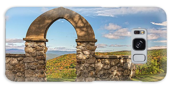 Stone Church In Autumn Galaxy Case