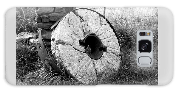 The Old Stone Grinding Wheel Galaxy Case
