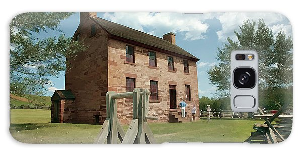 Us Civil War Galaxy Case - Stone House At Manassas With Digital Effects by William Kuta