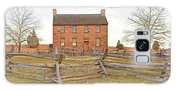 Stone House / Manassas National Battlefield / Winter Morning Galaxy Case