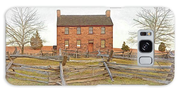 Stone House / Manassas National Battlefield / Winter Morning Galaxy Case