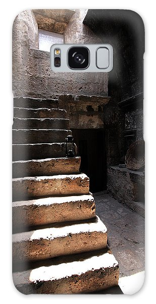 Stone Stairs At Santa Catalina Monastery Galaxy Case