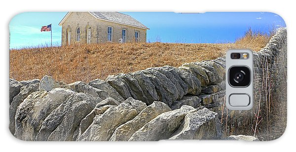 Stone Wall Education Galaxy Case by Christopher McKenzie