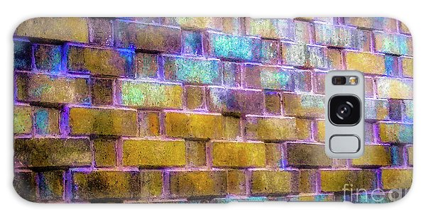 Brick Wall In Abstract 499 Galaxy Case