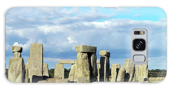 Galaxy Case featuring the photograph Stonehenge 5 by Francesca Mackenney