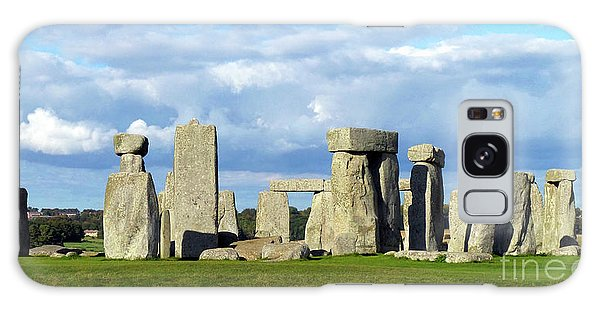 Galaxy Case featuring the photograph Stonehenge 6 by Francesca Mackenney