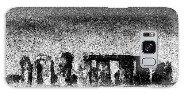 Stonehenge At Dusk Galaxy Case