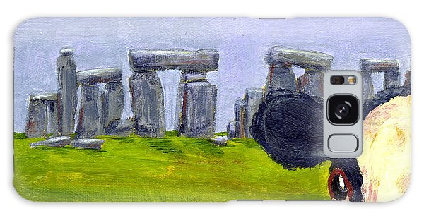 Stonehenge Cow Galaxy Case by Terry Taylor