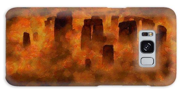 Strange Galaxy Case - Stonehenge by Esoterica Art Agency