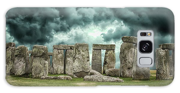 World Religion Galaxy Case - Stonehenge Storms by Martin Newman