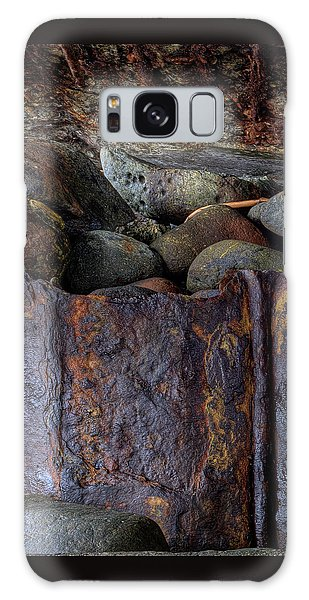 Rusted Stones 1 Galaxy Case by Steve Siri