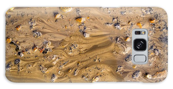 Stones In A Mud Water Wash Galaxy Case by John Williams