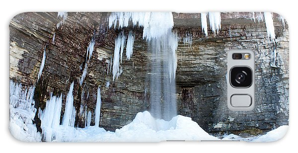 Stony Kill Falls In February #1 Galaxy Case by Jeff Severson